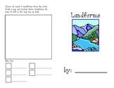 Landforms, Definitions, & Map Key Symbols