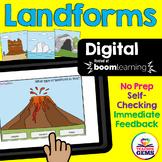 Landforms Digital Boom Cards