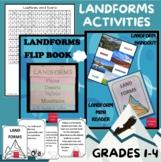 Landforms Activities (Plain, Desert, Valley, Mountain)