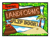 Landforms Flip Book SPANISH