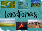 Landforms Flipchart and Activities