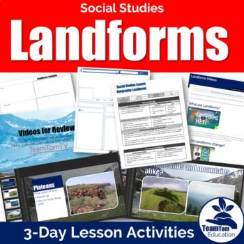 Landforms Geography Bundle