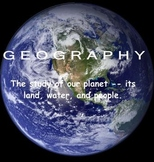 Landforms - Geography SMART board lesson
