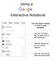 Landforms: Google Apps Interactive Notebook