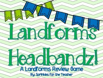 Landforms Headbandz