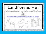 Landforms Ho! Multi-leveled booklets for landform identification