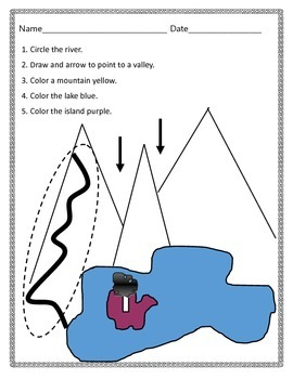 Landforms Identification Assessment
