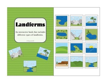 Landforms Interactive Book