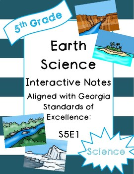 Landforms Interactive Notebook
