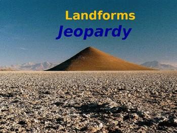 Landforms Jeopardy