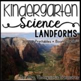 Landforms Kindergarten Science NGSS