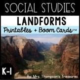 Landforms - Kindergarten and 1st Social Studies
