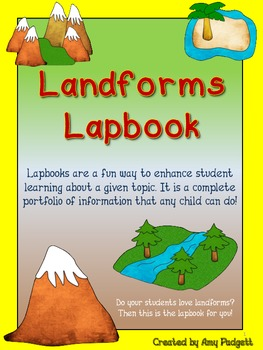 Landforms Lapbook