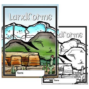 Landforms Lapbook