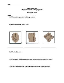 Landforms Lesson 3 Handout