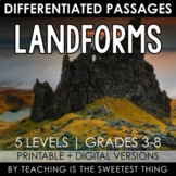 Landforms: Passages