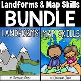 Landforms & Map Skills Unit BUNDLE