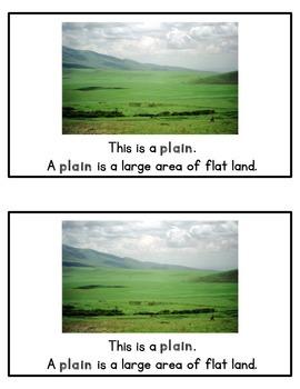 Landforms Mini-Book