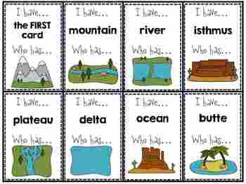 Landforms Mini Unit