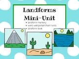 Landforms Mini Unit
