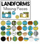 Landforms Missing Pieces Task Box | Task Boxes for Special Education