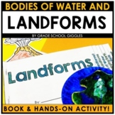 Landforms And Bodies of Water Project With Printable Book