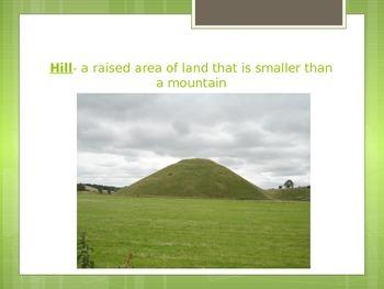 Landforms Ohio Content Standards