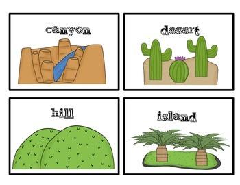 Landforms Pack