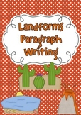 Landforms Paragraph Writing