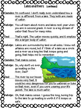 Landforms: Partner Plays (five scripts to improve fluency) 2nd & 3rd