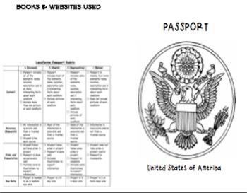 Landforms Passport Project