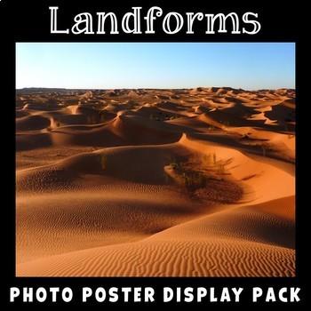 Landforms Photo Poster Display Pack