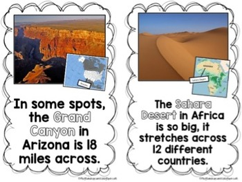 Landforms: Place Value Activity Pack