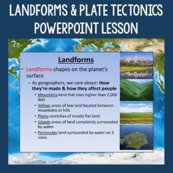 Landforms, Plate Tectonics, and Human-Environment Interact