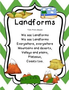 Landforms Poem