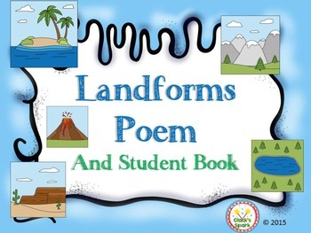 Landforms Poem and Student Book