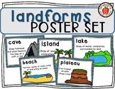 Landforms Poster Set (Anchor Charts)