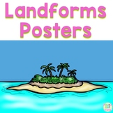 Landforms Posters
