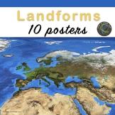 Landforms Posters