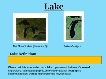 Landforms PowerPoint Presentation
