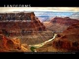Landforms Powerpoint Slides (editable) TEKS 4.7B, TEKS 5.7B