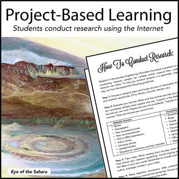 Landforms Project - PBL - STEM