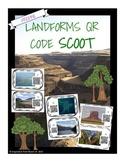 Landforms QR Scoot/Task Cards FREEBIE