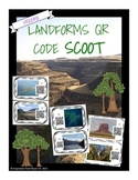 Landforms QR Scoot/Task Cards FREEBIE