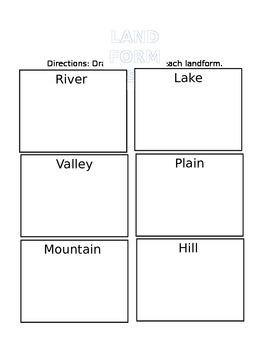 Landforms Quiz