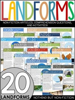 Landforms Reading Passages
