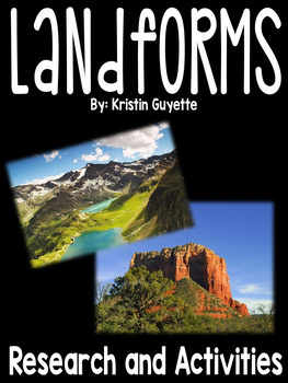 Landforms: Research and Activities