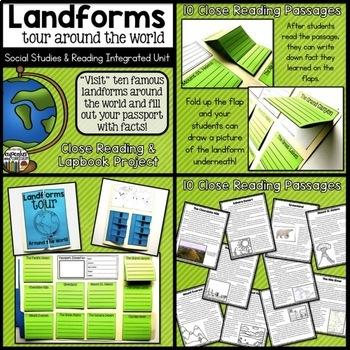 Landforms Resource Bundle