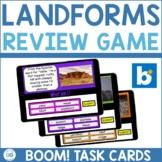 Landforms Review & Practice Boom Cards™   Digital Task Car