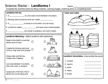 original-2241960-1  Grade Landforms Examples on most detailed science project, formed deposition wind water or ice,